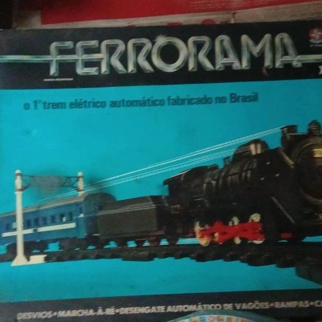 Versão original do Ferrorama, de 1980, ainda em sua