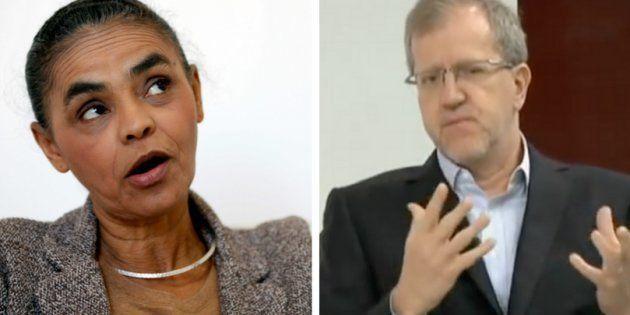 Capobianconegou que Marina desacredite na ciência, ao falar sobre a declaração que teria dado em 2010...