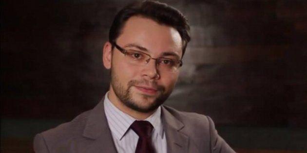 Diogo Costa participou da sabatina representando João Amoedo, do Partido