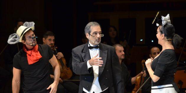 O concerto faz parte do projeto Aprendiz de Maestro, que integrao projeto Música pela Cura