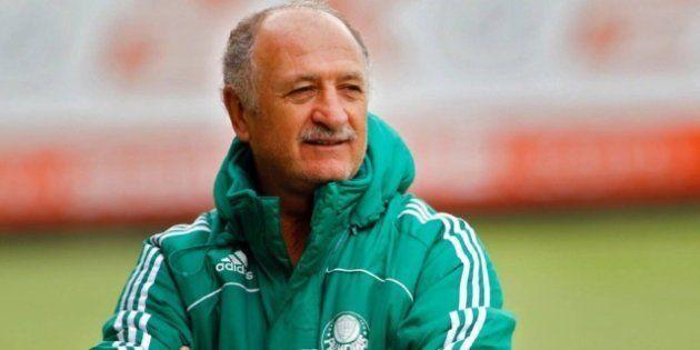 Luiz Felipe Scolari, o Felipão, assume comando do Palmeiras pela terceira