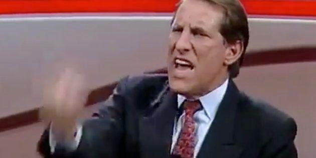 Quércia a entrevistador no Roda Viva em 1994: 'Cala a boca, canalha,