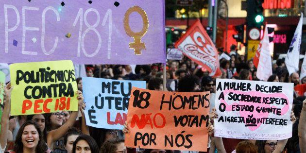 PEC 181, que inviabiliza o aborto legal, avançou no Congresso Nacional após decisão de turma do STF sobre...