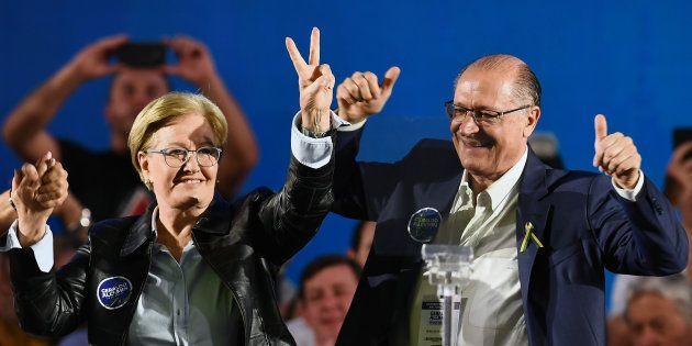 Geraldo Alckmin, do PSDB, e Ana Amélia, do PP, reúnem forças na maior coligação