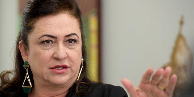 A senadora Kátia Abreu (PDT-TO) foi convidada para ser vice de Ciro Gomes e