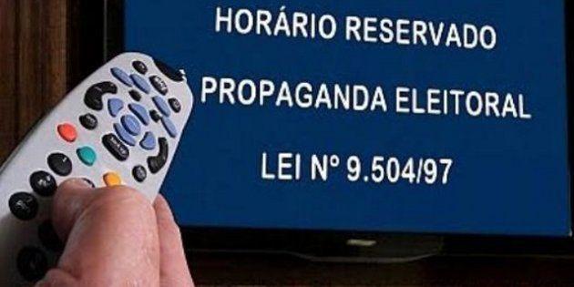 Horário político na televisão terá início no dia 31 de