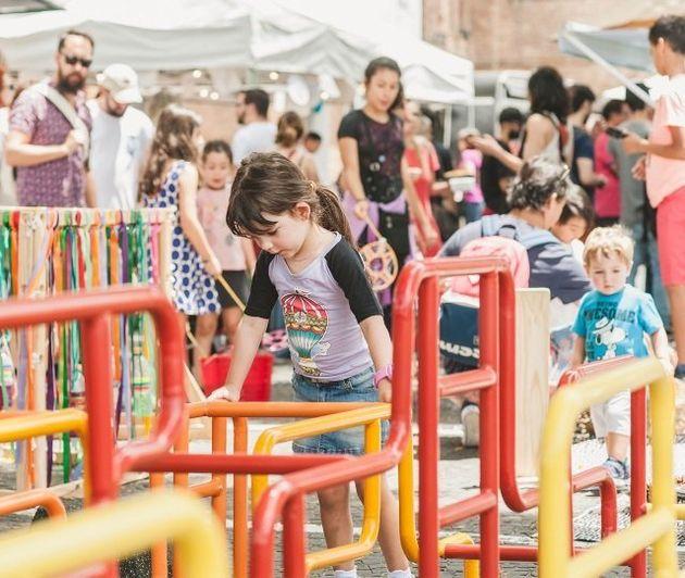 Atividades infantis estão entre as atrações programadas para os dois dias de evento na Pinacoteca de...