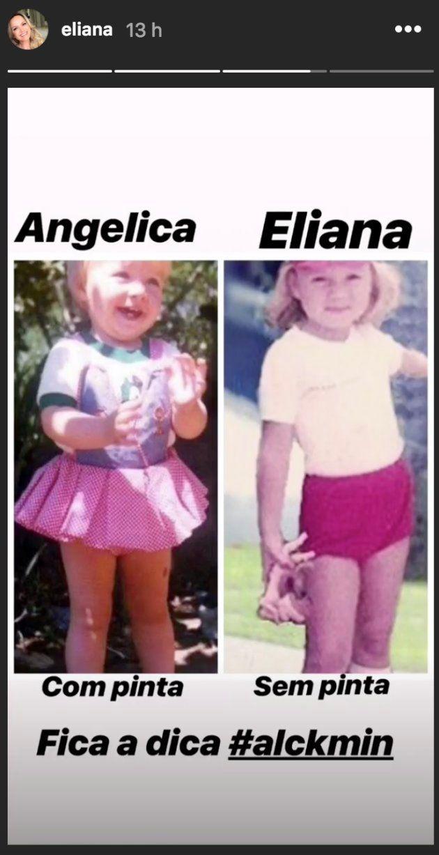 As reações da Angélica e da Eliana foram a cereja do bolo da gafe do