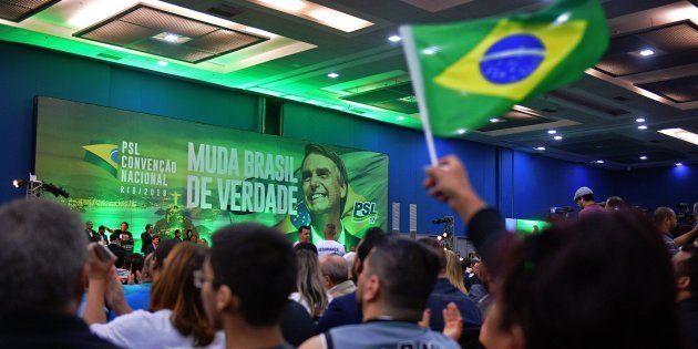 Com pouco tempo de propaganda de rádio e TV, PSL de Jair Bolsonaro lança candidatos a governador para...