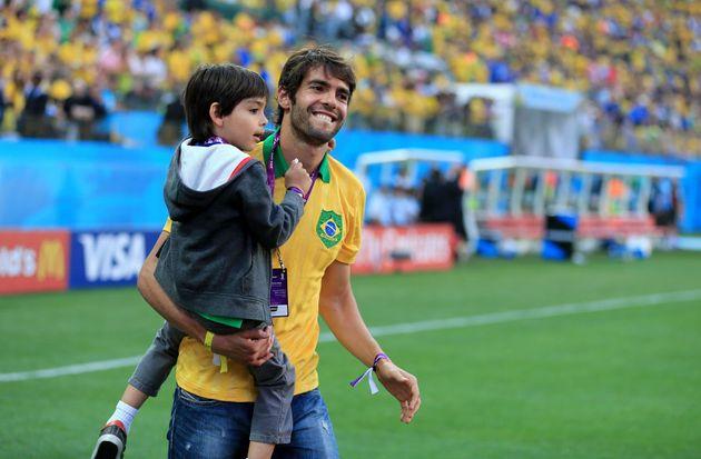 Kaká, que fez história na Seleção Brasileira, é