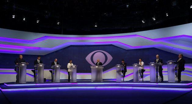 Participaram do debate 8 candidatos à Presidência: Alvaro Dias, Cabo Daciolo, Geraldo Alckmin, Marina...