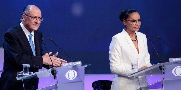 No debate da Band, Alckmin, foi o principal alvo de perguntas de concorrentes e focou os questionamentos...