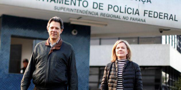 Estratégia do PT é aguardar até o limite para substituir Lula por Fernando Haddad na corrida