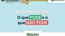 Começa a campanha eleitoral: Saiba o que é permitido e o que é proibido
