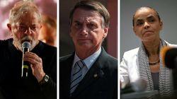 Lula declara R$ 7,9 milhões em bens, Bolsonaro, R$ 2,3 milhões e Marina, R$ 118