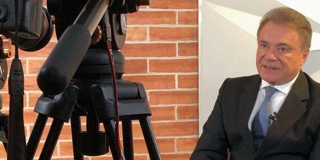 O candidato do Podemos, Alvaro Dias, foi sabatinado nesta quinta-feira (16) por jornalistas do HuffPost...