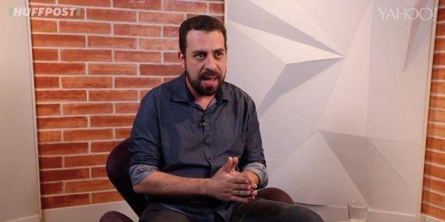 Guilherme Boulos é o 1º a ser sabatinado por HuffPost Brasil e Yahoo!
