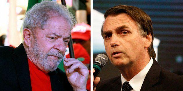 Enquanto Lula é condenado em 2ª instância, Bolsonaro pode se tornar réu por crime de