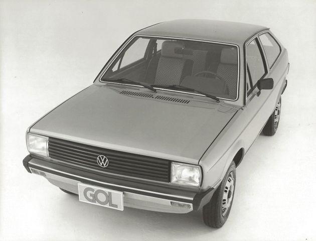 Gol 1980, o primeiro a ser lançado, pertencia à Geração