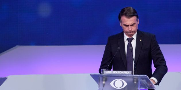 Jair Bolsonaro no debate da Band: candidato diz que agora quer