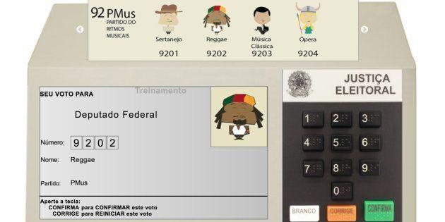 Urna eletrônica: Eleitor pode simular voto no site do