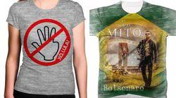 Lojas Americanas venderam camisetas pró-Bolsonaro e anti-Lula, diz