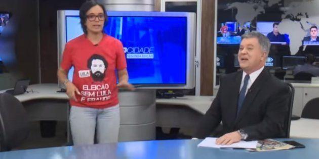 Priscila Ebara, candidata do PCO ao governo do Paraná, em entrevista na