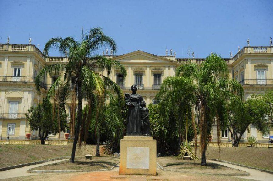Museu Nacional do Rio foi tombado pelo Instituto do Patrimônio Histórico e Artístico Nacional (Iphan)...