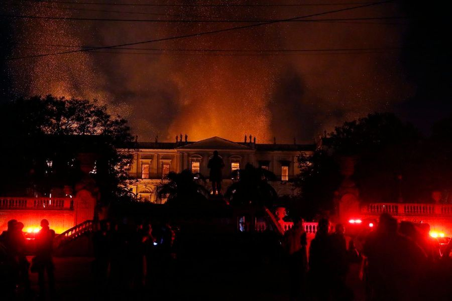 Incêndio no Museu Nacional do Rio durou mais de 6