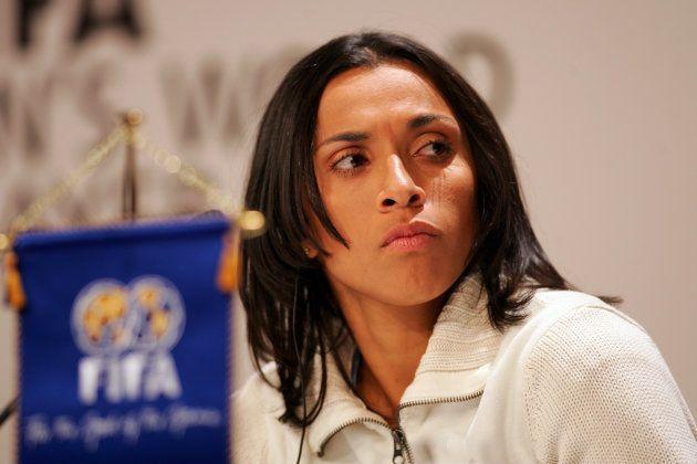 Marta é a representante do Brasil na festa dos melhores do ano no