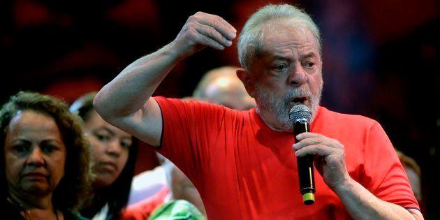 O ex-presidente Lula, em foto tirada em março de