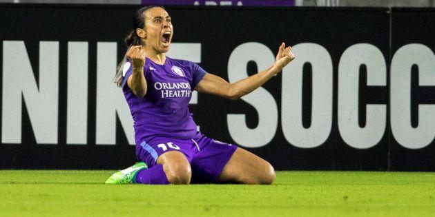 Alagoana Marta é a única representante do futebol brasileiro na festa da