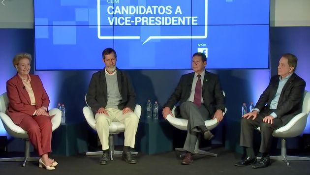 Ana Amélia, Eduardo Jorge, general Mourão e Paulo