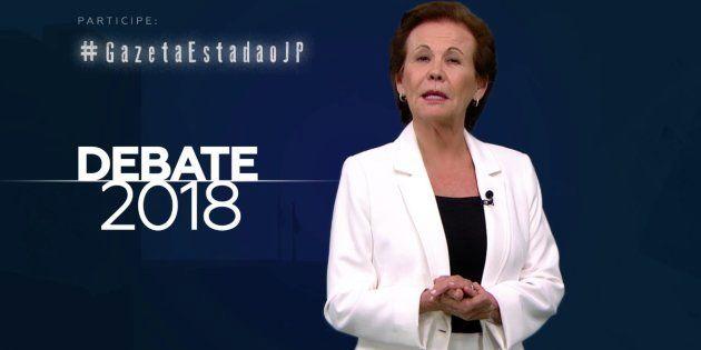 O debate da TV Gazeta foi mediado pela jornalista Maria Lydia