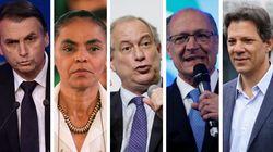 Ibope: Bolsonaro tem 22%; Marina, 12%; Ciro, 12%; Alckmin, 9%; e Haddad,