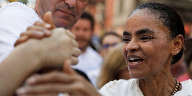 Marina Silva fez caminhada pela Paz em São