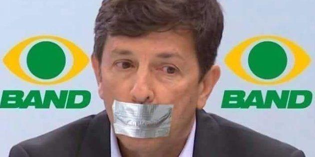 João Amoêdo brincou nas redes que estava sendo amordaçado por não poder participar de