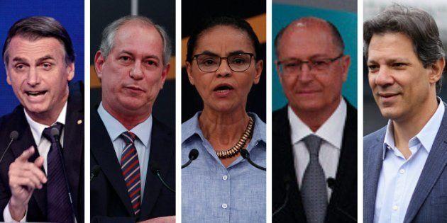 Bolsonaro lidera pesquisa Ibope e há empate de outros 4 candidatos em 2º