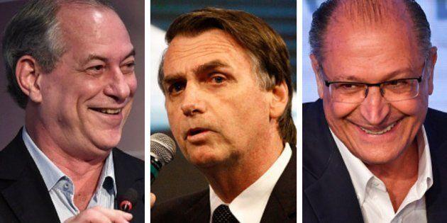 Ciro tem 40% das intenções de voto contra 37% de Bolsonaro em segundo turno. Alckmin ganharia do deputado...