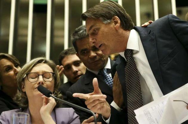 Embates entre Maria do Rosário e Jair Bolsonaro já duram pelo menos 15