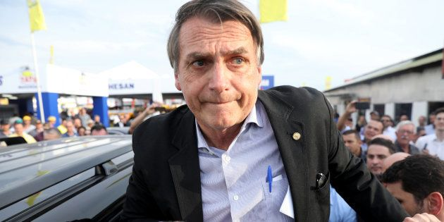 Jair Bolsonaro, candidato à Presidência pelo