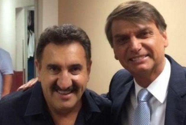Ratinho, do SBT, apoia o deputado Jair