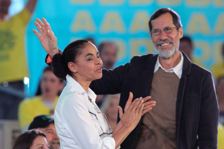 Marina Silva e Eduardo Jorge, unidos pela causa