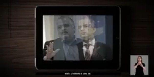 Propaganda usa sobreposição de imagens para mostrar