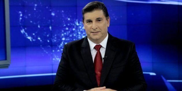 O jornalista Carlos Nascimento vai comandar o debate do SBT com a Folha e o