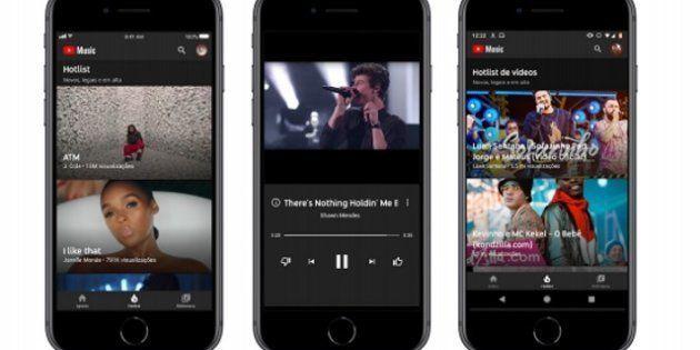 Novos serviços do YouTube estrearam no Brasil na terça-feira