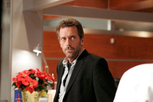 Hugh Laurie, protagonista de House, outra série de sucesso do roteirista David