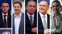 CNI/Ibope: Bolsonaro tem 27%; Haddad, 21%; Ciro, 12%; Alckmin, 8%; e Marina,