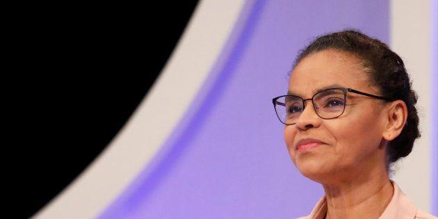 Marina Silva (Rede) faz discurso duro contra o PT no debate do
