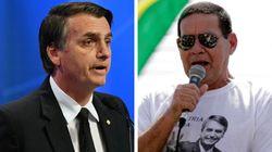 Bolsonaro e Mourão se desentendem sobre 13º